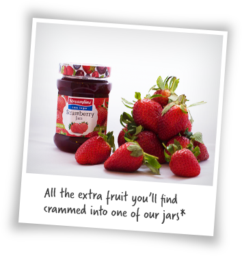 All the extra fruit crammed into our jams and marmalades
