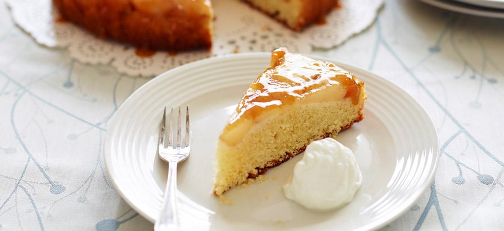 Pear Sponge Cake Recipe