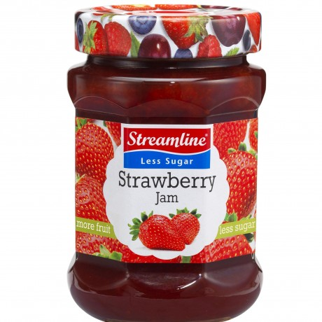 Strawberry Jam-ny-tekst