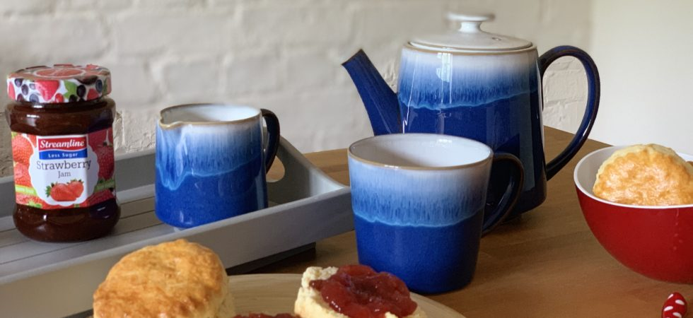 Win a Denby tea set with Streamline Less Sugar Jams and Marmalades; Great taste, no compromise