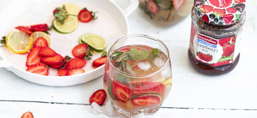 Streamline Strawberry virgin mojito