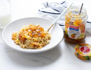 Streamline Foods Less Sugar Immunity boosting orange marmalade porridge
